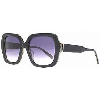French Connection Premium Chunky Square Sunglasses - Black