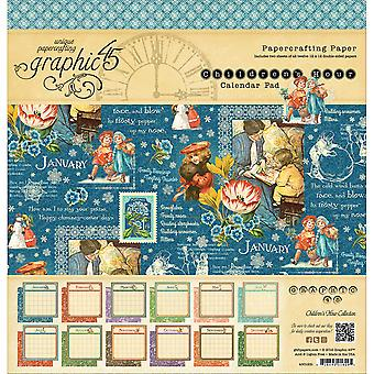 Graphic 45 Calendar Pad 12