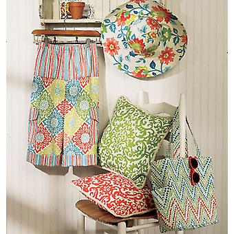 Pillow, Pants, Hat And Tote  L  Xl  Xxl Pattern B5933  Zz0