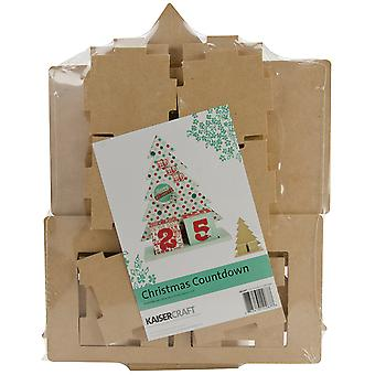 Beyond The Page Mdf Christmas Countdown 9.75