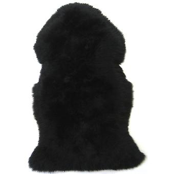 Snugrugs Jet Black Sheepskin Rug
