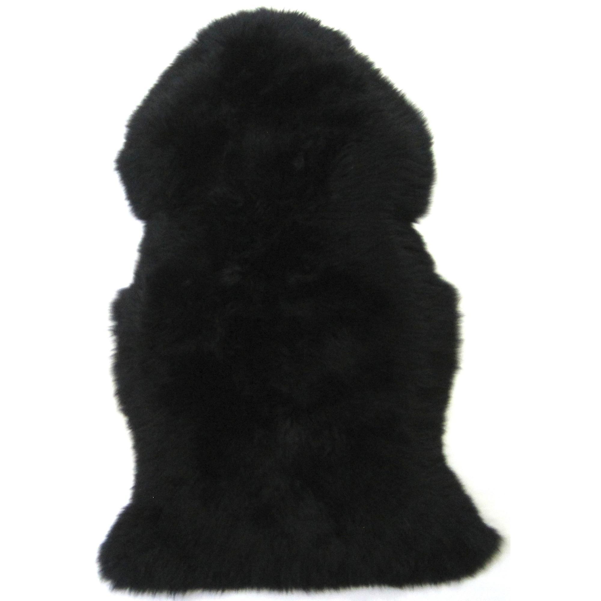 Snugrugs Jet Black Sheepskin Rug