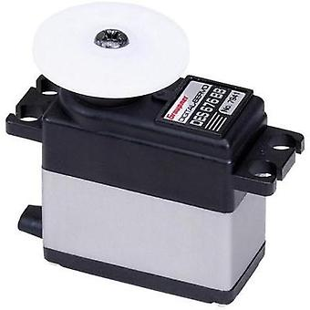 Graupner Midi servo DES 676 BB Digital servo Gear box material: Carbon Connector system: JR