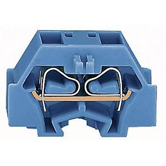 Terminal 8 mm Pull spring Configuration: N Blue WAGO 260-334 1 pc(s)