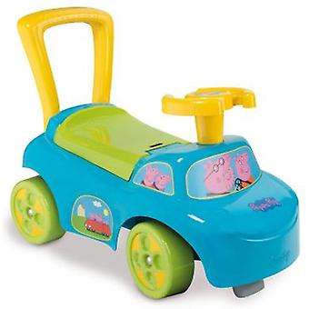 Smoby Auto Peppa Pig (Babies , Toys , Baby Trolleys And Roadrunners)