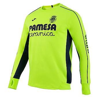 2016-2017 Villarreal Joma Training Top (Yellow)