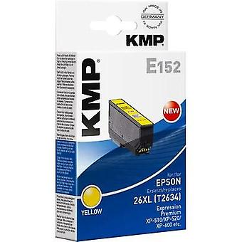 KMP Ink replaced Epson T2634, 26XL Compatible Yellow E152 1626,4009