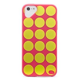 Olo Cloud Cover iPhone 5 / 5S Polka Dot Pink