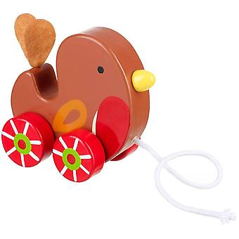 Orange Tree Toys Pull Along Robin
