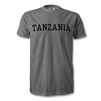Tansania Land Kinder T-Shirt