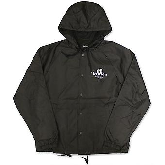 Brixton Tanka Windbreaker Jacket Black
