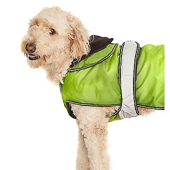 2 In 1 Hi Viz Dog Coat 35cm (14