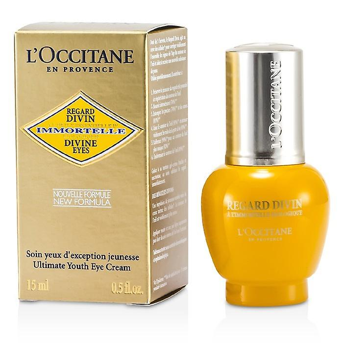 L'Occitane Immortelle Divine Eyes Ultimate Youth Eye Cream 15ml / 0.5oz