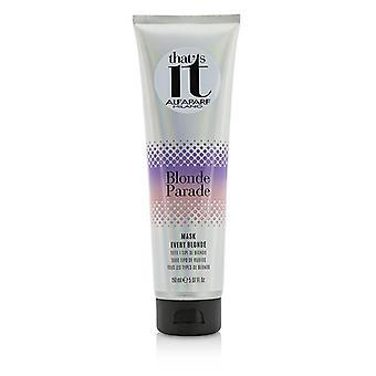 AlfaParf That's It Blonde Parade Mask (For Every Blonde) 150ml/5.07oz