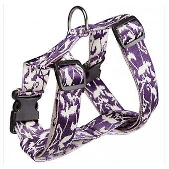 Arppe Harness Cotton-Nylon Jacquard Purple (Dogs , Walking Accessories , Harnesses)