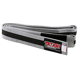 Tatami Fightwear Kids BJJ Rank Gray/Black Belt