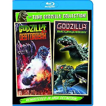 Godzilla vs Destoroyah/Godzilla vs Megaguirus [BLU-RAY] USA import