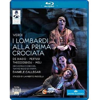 G. Verdi - jeg Lombardi Alla Prima Crociata [BLU-RAY] USA import
