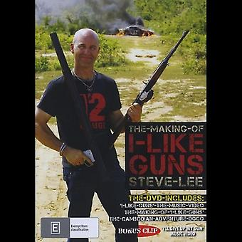 Steve Lee - Making of ich wie Guns [DVD] USA import