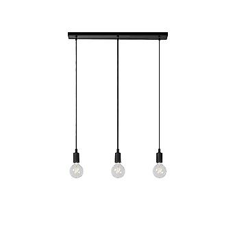 Lucide FIX Breakfast Bar 3 Bulb Light Pendant