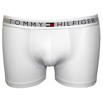 Tommy Hilfiger Icon Cotton Stretch Boxer Trunk, White