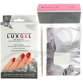 Lux Gel Removal Accessories Kit