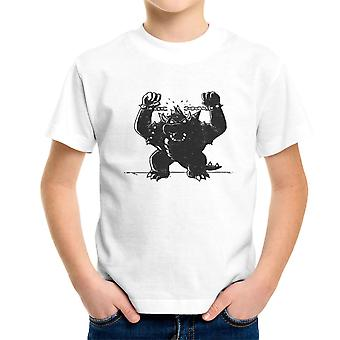 Bowser Unchained Super Mario Bros Kid's T-Shirt