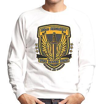 22 regiment insignier torsk 4 moderne krigsførelse mænds Sweatshirt