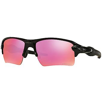 Oakley Flak 2.0 XL OO9188-06 Rectangular Polished Black Mens Sunglasses - OO9188-918806