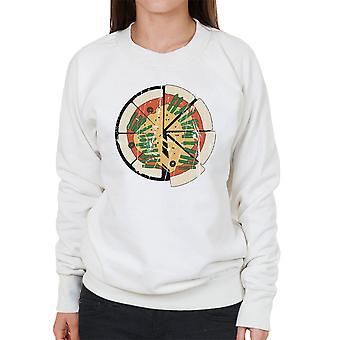 Anzio High School Girls Und Panzer Distressed Women's Sweatshirt