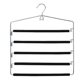 Closet Spice Chrome 5 Tier Pant Hanger - Set of 2