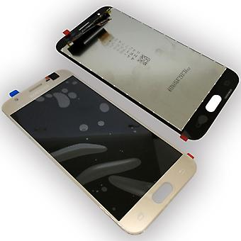 Display LCD complete set GH96 10990A gold for Samsung Galaxy J3 2017 J330F