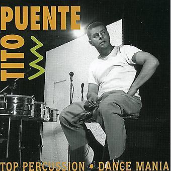 Tito Puente - Top slagtøj/Dance Mania [CD] USA importerer