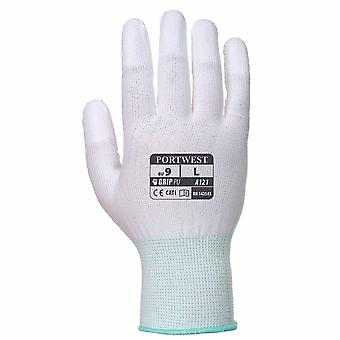 Portwest - PU Fingertip Glove Maximum Abrasion Resistance (1 Pair Pack)