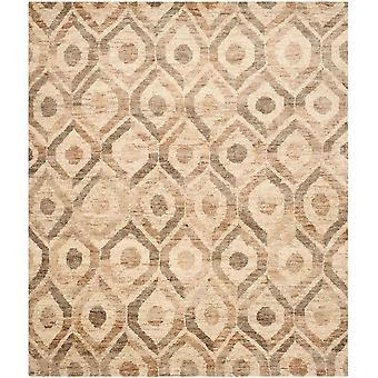 Sila naturlige Jute brun espalier tæppe - Safavieh