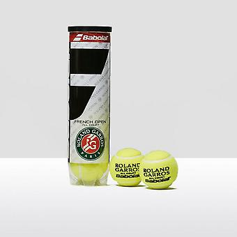 Babolat French Open All Court Tennis Balls (4 Ball Can)