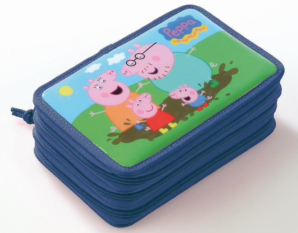 Peppa Pig caja cremallera azul 3