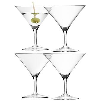 LSA Bar Martini glas klart 180 ml x 4