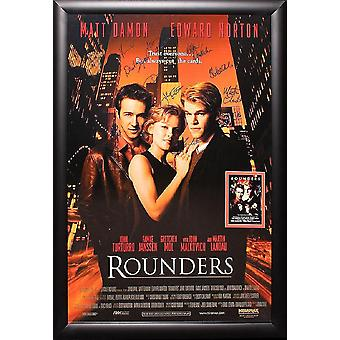 Rounders - Signed Movie Poster