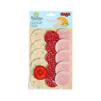 HABA - Play Food Sliced Luncheon Meats (Fabric) 1461