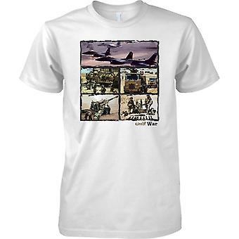 Golf Krieg Collage - Desert Storm Enduring Freedom - Kinder T Shirt