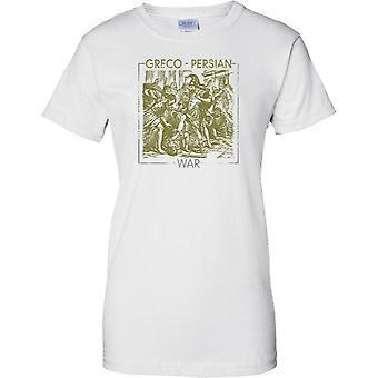 Greco-Persische Krieg - Kampfszene - Damen T-Shirt