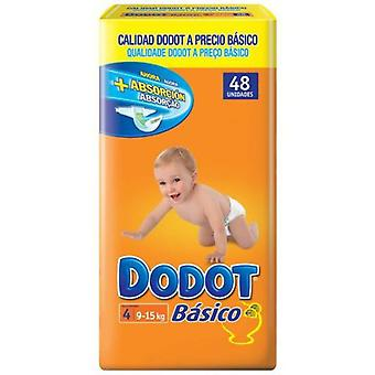 Dodot Diapers Basic Size 4 (9-15 Kg) 48 Units (Childhood , Diaper and changers , Diapers)
