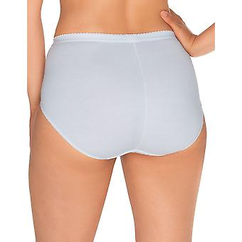 Sans Complexe 624438 Women's Coton d'Arum White Knickers Panty Full Brief