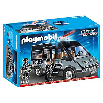 Playmobil Police Van with Light and Sound 6043