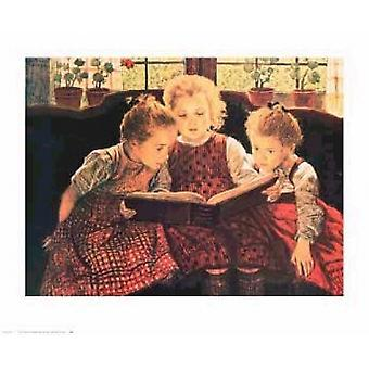 The Fairy Tale Poster Print by Walter Firle (28 x 23)