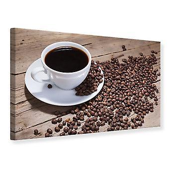 Leinwand drucken Kaffee