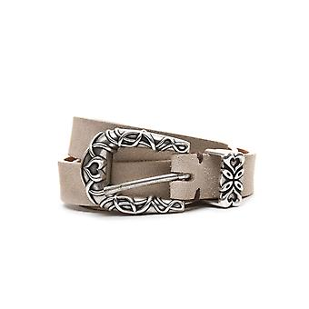 Eleventy ladies 980CI0005CIN190143 beige suede belt