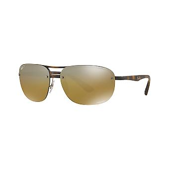 Ray - Ban RB4275CH Chromance tortoiseshell mast mirrored Brown polarized money