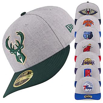 New era 59Fifty low profile Cap - NBA all teams heather